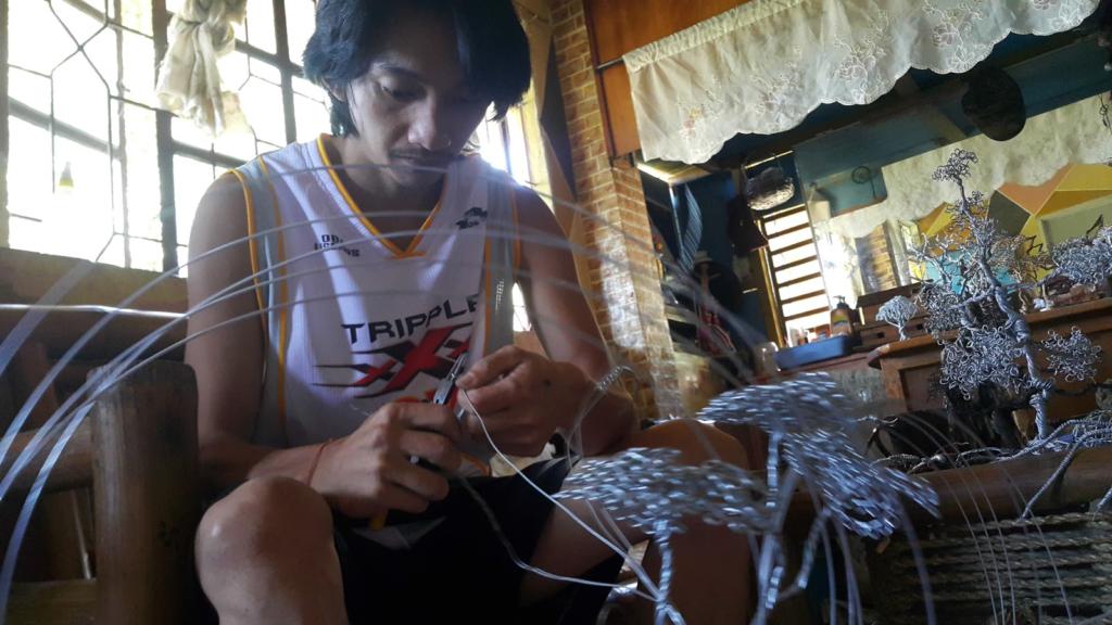 Wire Art, a miner's lifeline