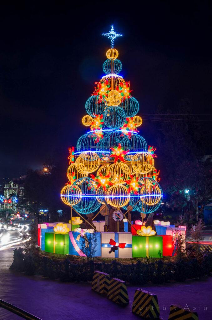 Baguio City Creative Christmas Trees